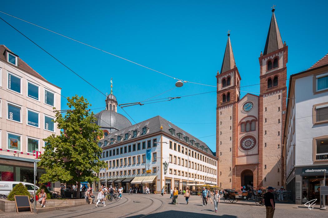 Würzburg Bayern Dom St. Kilian Cathedral
