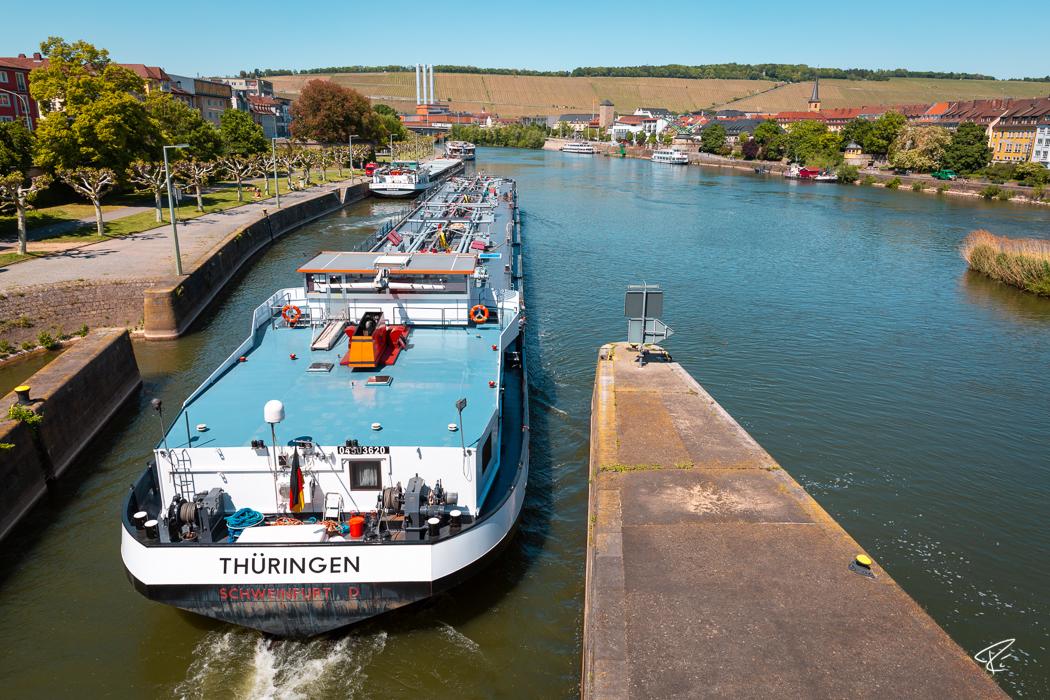 Würzburg Bayern Schifffahrt