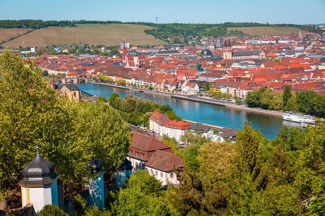 Würzburg Bayern Aussicht