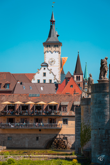 Würzburg Bayern Alte Mainmühle