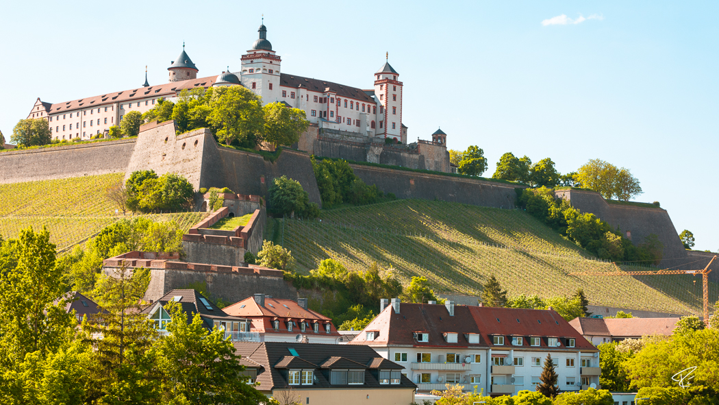 Würzburg Bayern Festung Marienberg Fortress