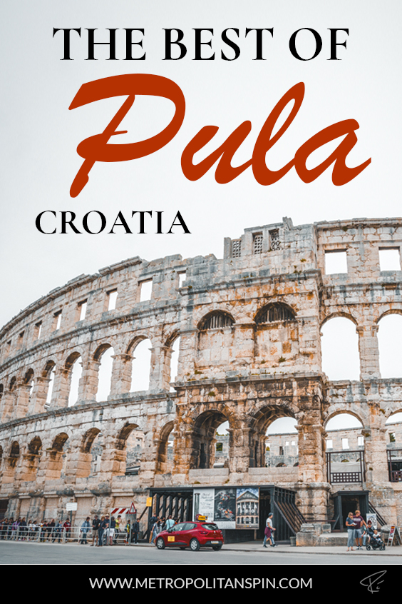 Pula Croatia Pinterest Cover