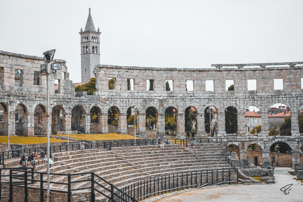 Pula Istria Croatia Arena