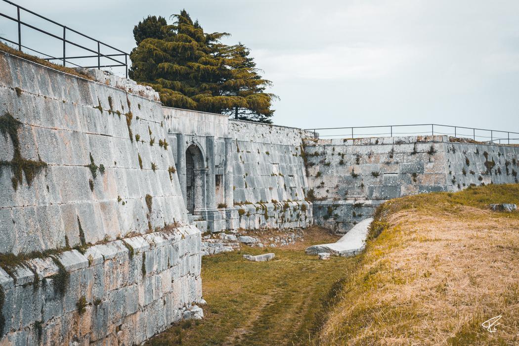 Pula Istria Croatia Kastell Fortress