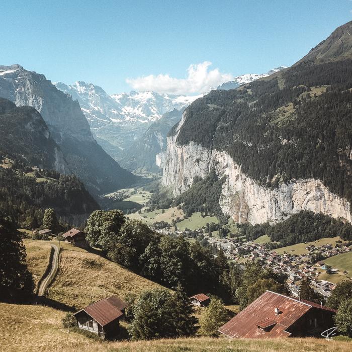 Lauterbrunnen Kleine Scheidegg Switzerland