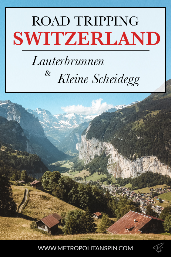 Lauterbrunnen Switzerland Pinterest Cover