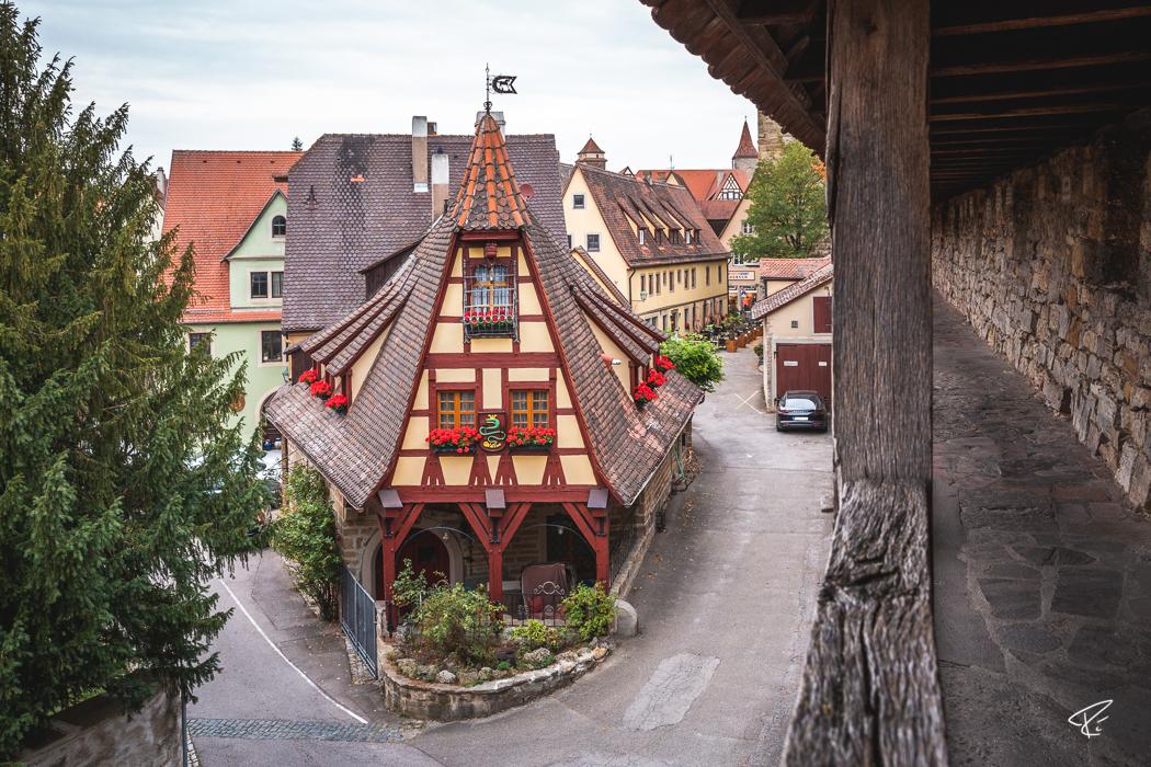 Rothenburg ob der Tauber Bayern Gerlachschmiede