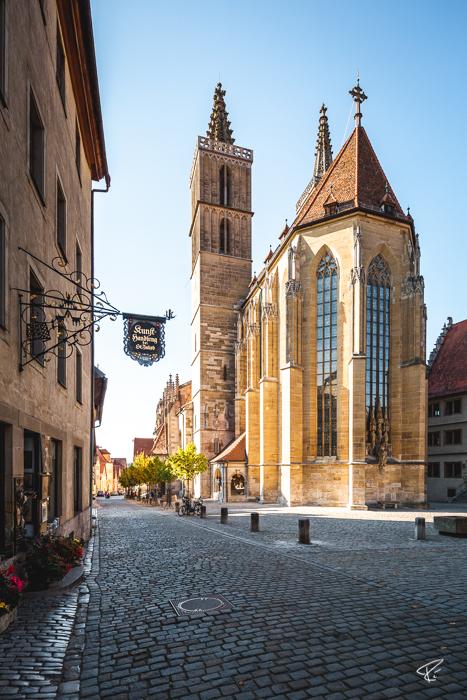 Rothenburg ob der Tauber Bayern Kirche St. Jakob