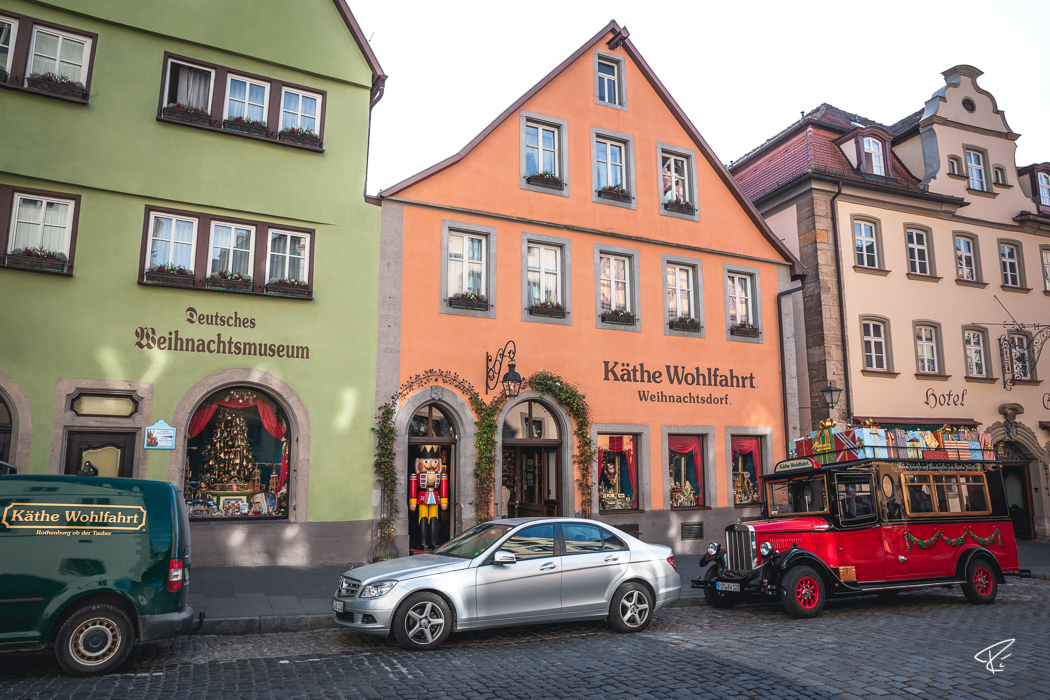 Rothenburg ob der Tauber Bayern Käthe Wohlfahrt