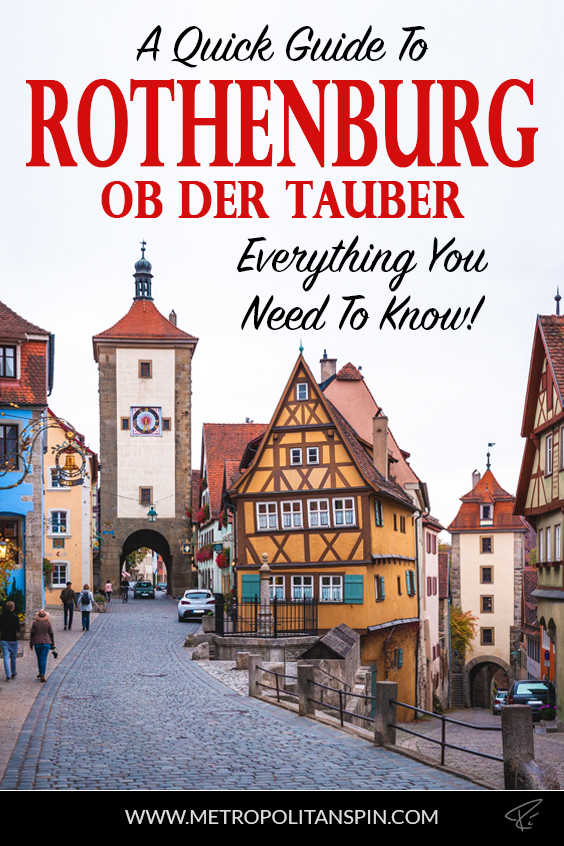 Rothenburg ob der Tauber Pinterest Cover