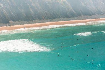 Algarve Portugal Praia da Arrifana beach Strand surfing