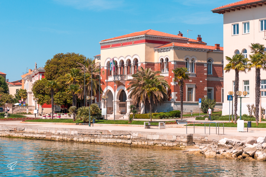 Porec Istria Croatia Rathaus city hall