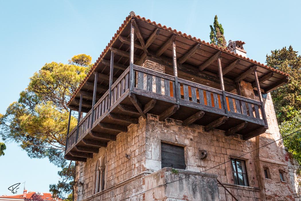 Porec Istria Croatia Romanisches Haus Romanesque House