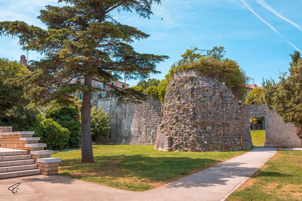 Porec Istria Croatia Stadtbefestigung fortification