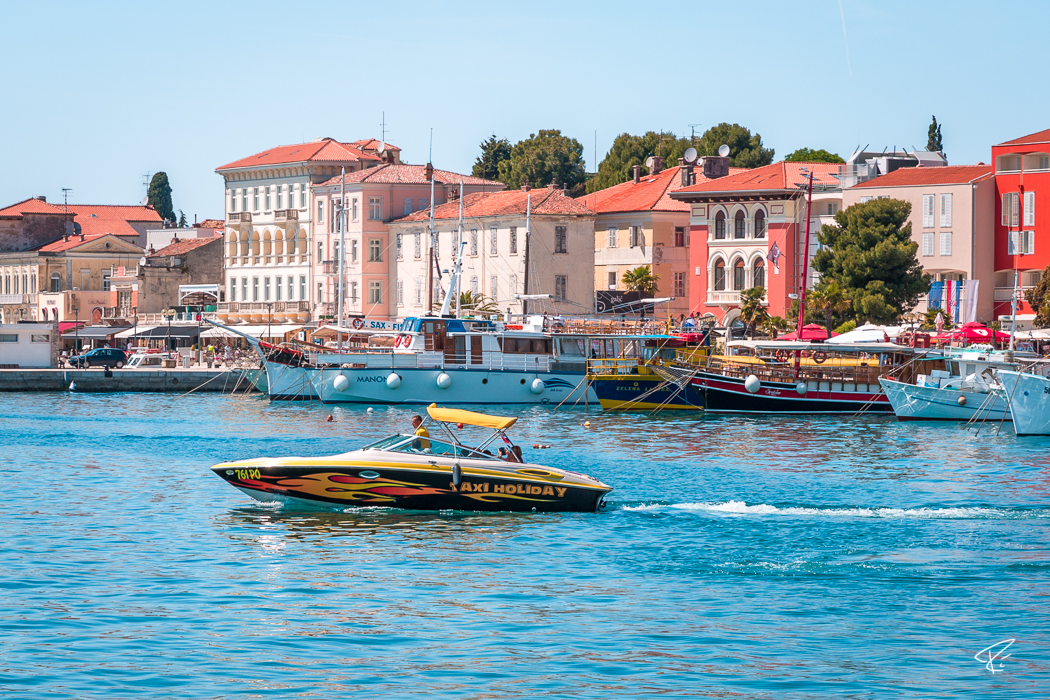 Porec Istria Croatia Hafen harbor port boats